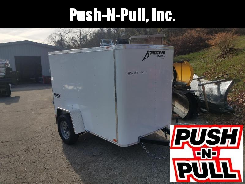 2020 Homesteader 5'X8' Flat Nose Trailer Enclosed Cargo Trailer