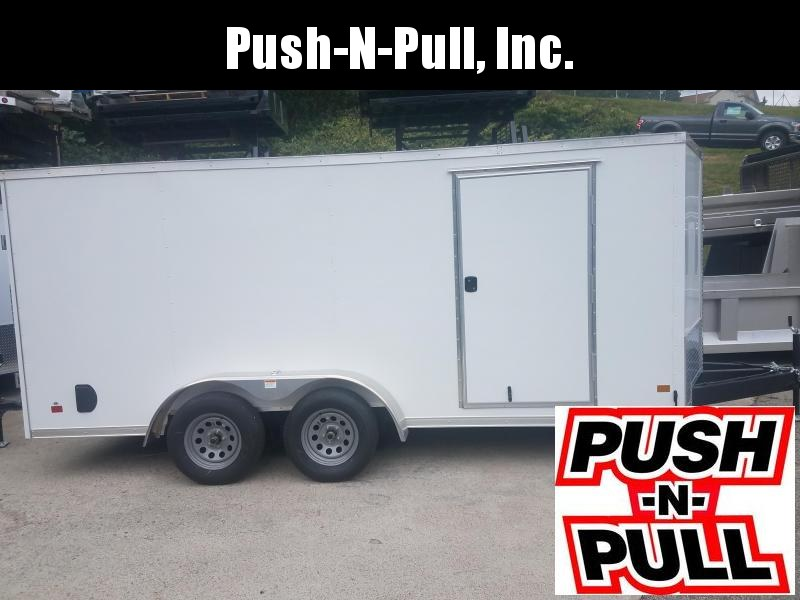 2020 DARKHORSE 7'X16' V Nose Trailer Enclosed Cargo Trailer