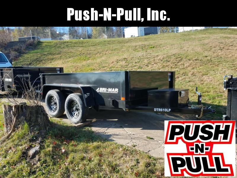 2020 BRI-MAR 6'X10' LP DUMP TRAILER