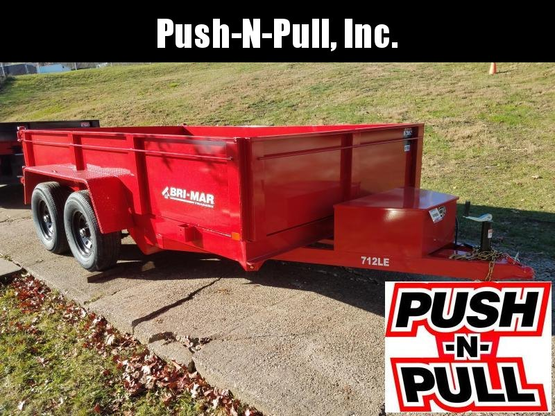 2020 BRI-MAR 7'X12' LP DUMP TRAILER