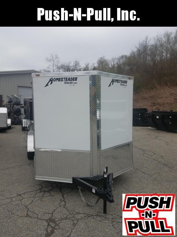 2020 Homesteader 7'X16' V Nose Trailer Enclosed Cargo Trailer