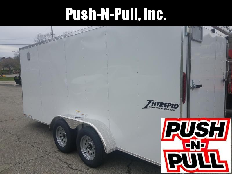 2020 Homesteader 7'X16' V Nose Trailer Enclosed Cargo Trailer