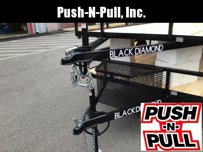 2020 BLACK DIAMOND 6'X12' STEEL UTILITY TRAILER