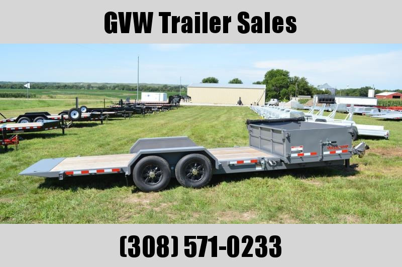 2019 Midsota HS-21 Tilt Equipment Trailer