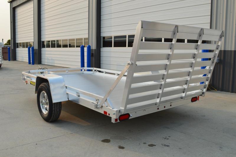 2021 Aluma 7712H-S-TG Utility Trailer