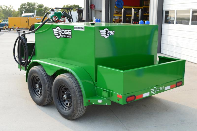 2021 Farm Boss 590 Fuel Trailer