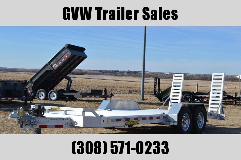 2021 Aluma 8220-14K Heavy Duty Equipment Trailer