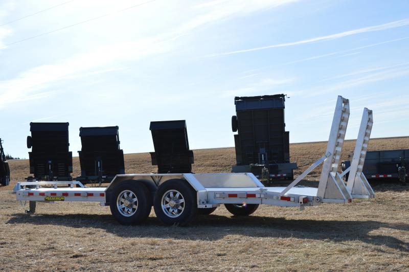 2021 Aluma 8220-14K Heavy Duty Equipment Trailer
